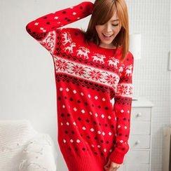 Tokyo Fashion - Nordic Print Sweater
