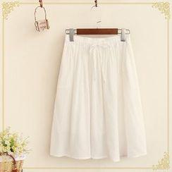 Fairyland - Plain Midi Skirt