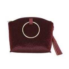 DABAGIRL - Hoop Tasseled Synthetic Calf-Hair Shoulder Bag