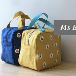 Ms Bean - Patterned Canvas Lunch Bag
