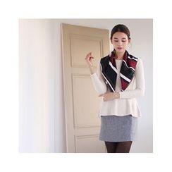 MASoeur - Herringbone Mini Skirt
