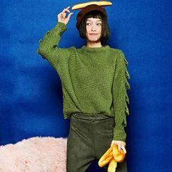 Sam's Tree - Cutout Sweater