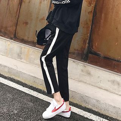 Cocoma - Striped Sports Pants