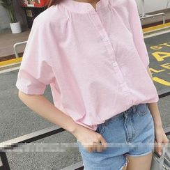 Oaksa - Elbow-Sleeve Blouse