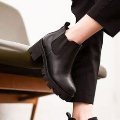 VIVIER - Faux-Leather Ankle Boots
