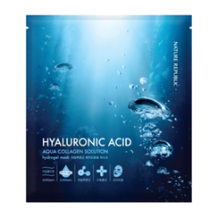 Nature Republic - Aqua Collagen Solution Hyaluronic Acid Hydrogel Mask (1pc)