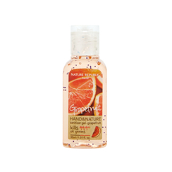 Nature Republic - Hand And Nature Sanitizer Gel (Ethanol) - Grapefruit 30ml