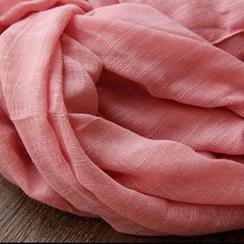 Cozykiss - 蕾丝边薄款围巾