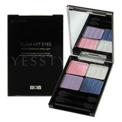VOV - Glam Art Eyes Color Gradation Make-up (#04 Vivid Floral)