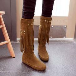 傾城 - 流蘇短靴
