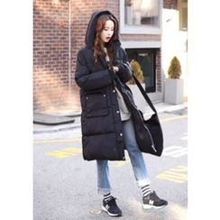 DEEPNY - Hooded Long Padded Coat