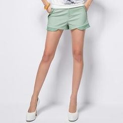 O.SA - Lace-Trim Shorts