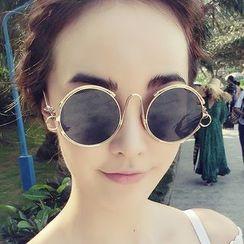 Biu Style - 圓形太陽眼鏡