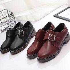 BARCA - 粗跟扣帶鞋