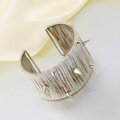 Trend Cool - Punk Studded Open Bangle