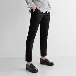 Seoul Homme - Slim-Fit Dress Pants