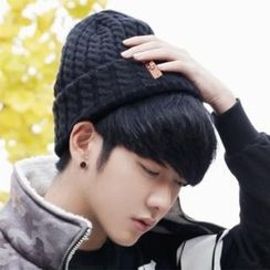 ABOKI - Cable-Knit Beanie