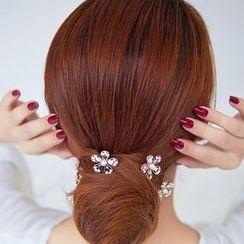 Missy Missy - Rhinestone Flower Hair Pin