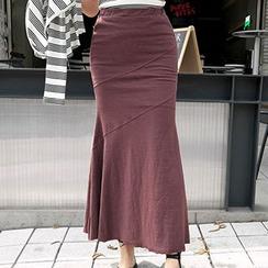 Wild Ivy - High-Waist Maxi Skirt