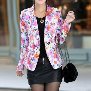 Swish - Floral Print Blazer