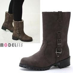 MODELSIS - Buckled Boots