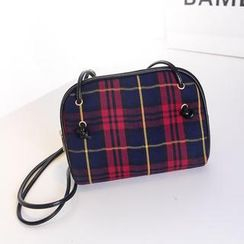 Bibiba - Plaid Shoulder Bag