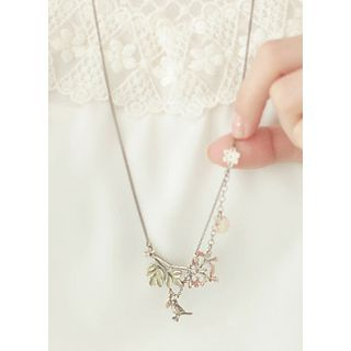 kitsch island - Bird Charm Necklace