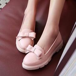 Tomma - 蝴蝶結平跟鞋