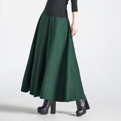 Flore - A-Line Maxi Skirt