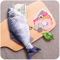 Momoi - Fish Print Pencil Case