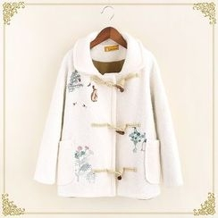 Fairyland - Embroidered Woolen Coat