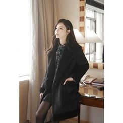 MyFiona - Notched-Lapel Faux-Shearling Coat
