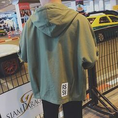 Soulcity - Hooded Button Down Jacket