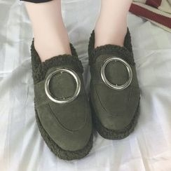 SouthBay Shoes - Fleece Lined Loafers