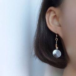 Calypso - Non-matching Scallop Earrings