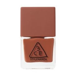 3 CONCEPT EYES - Mood Recipe Long Lasting Nail Lacquer (#BR05 Warm Red Brown)