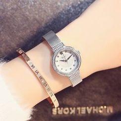 Periwinkle - Rhinestone Bracelet Watch