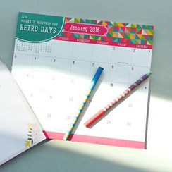 BABOSARANG - 2016 Magnetic Wall Calendar (M)
