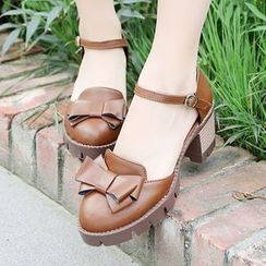 Sidewalk - Platform Bow Pumps