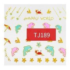 Maychao - Nail Sticker (TJ187)