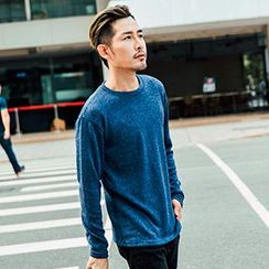 AOYAMA - Cable Knit Top