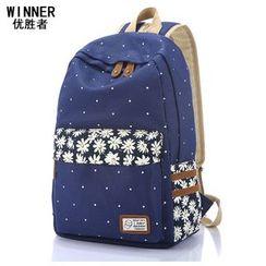 VIVA - 花形帆布背包
