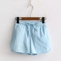 Tangi - 纯色运动短裤