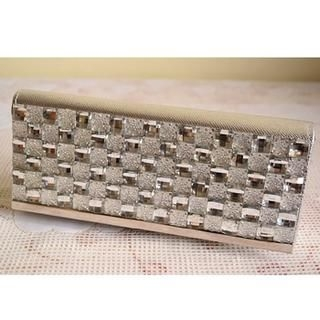 Miss Sweety - Rhinestone-Accent Clutch