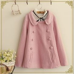 Fairyland - Double-Breasted Peter Pan Collar Jacket