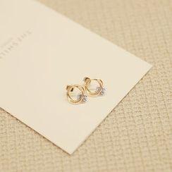 MyFiona - Rhinestone Earrings