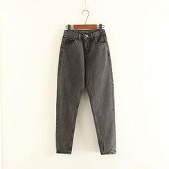 Mushi - High Waist Jeans