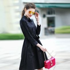 洛圖 - 長袖連衣裙