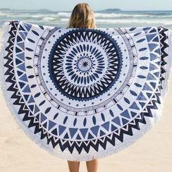 INKOO - Patterned Beach Blanket
