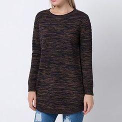 Richcoco - Melange Long Sweater